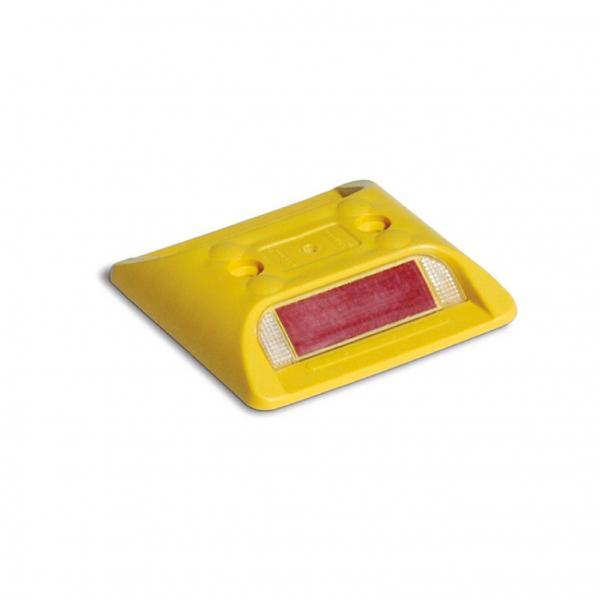 Marker stradale giallo