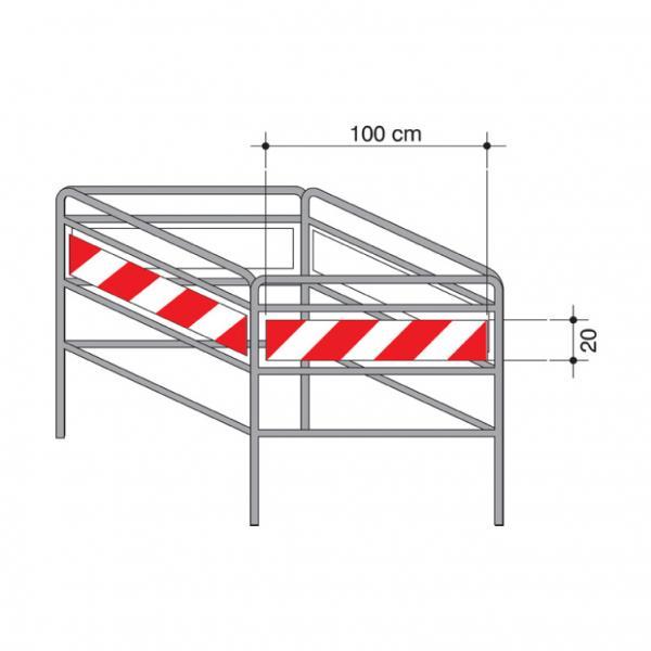 Barriera di protezione per chiusini