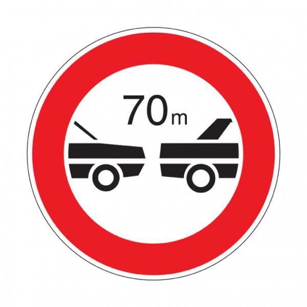 Distanziamento minimo obbligatorio di ... metri