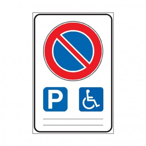 Sosta consentita a veicoli al servizio di persone invalide