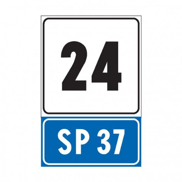 Progressiva distanziometrica per strada statale