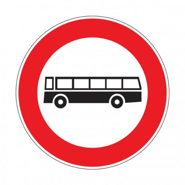 Transito vietato agli autobus