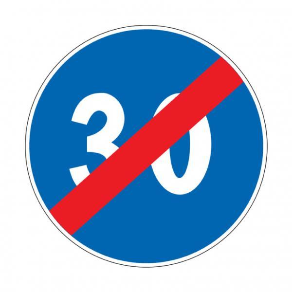 Fine del limite minimo di velocità