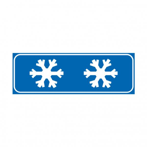 Strada sdrucciolevole per ghiaccio